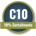 10% Curtailments